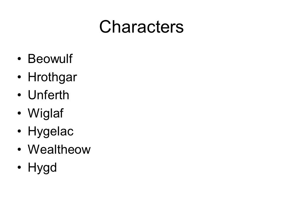 beowulfs loyalty in the poem beowulf