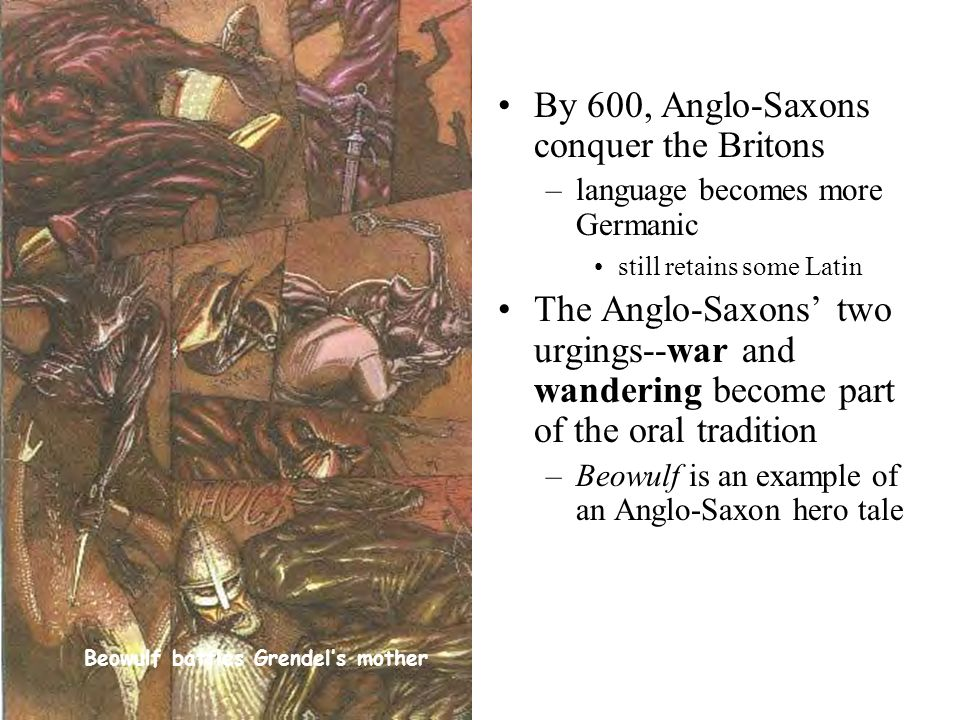 Anglo-Saxon and Germanic Culture: The Historical Setting in Beowulf