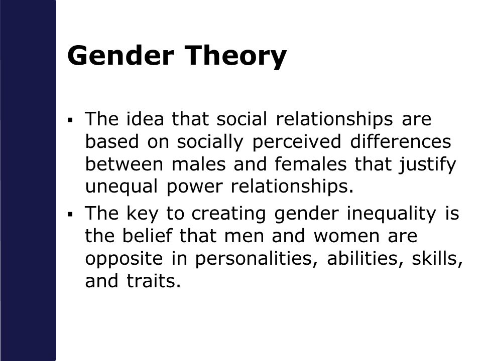 Gender Theory