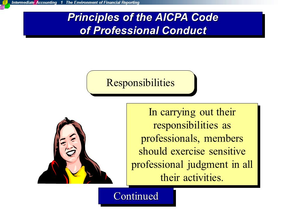 aicpa code of professional conduct essay Staff consultation papers standing advisory group et section 102 governed by the code of professional conduct and shall be performed in compliance with rule.