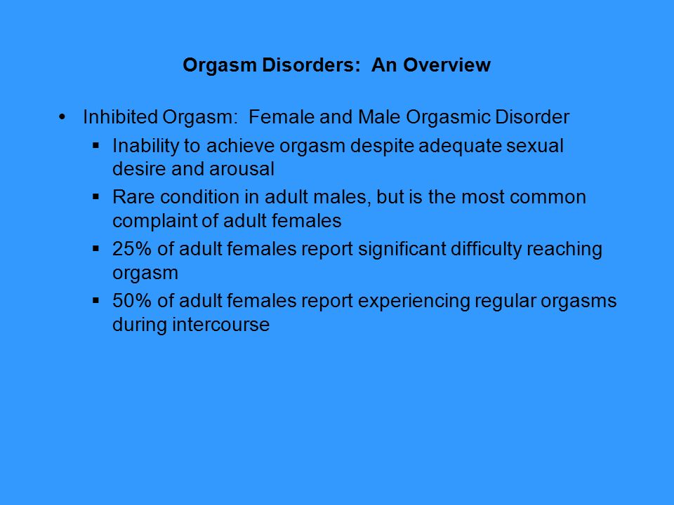 a report of female sexual arousal disorder Ediary system's importance in a clinical trial for female sexual was a large, complex phase iib study which looked at three different indications of fsd: female sexual arousal disorder (fsad), hypoactive sexual at-home screening period were calculated and displayed in a summary report.
