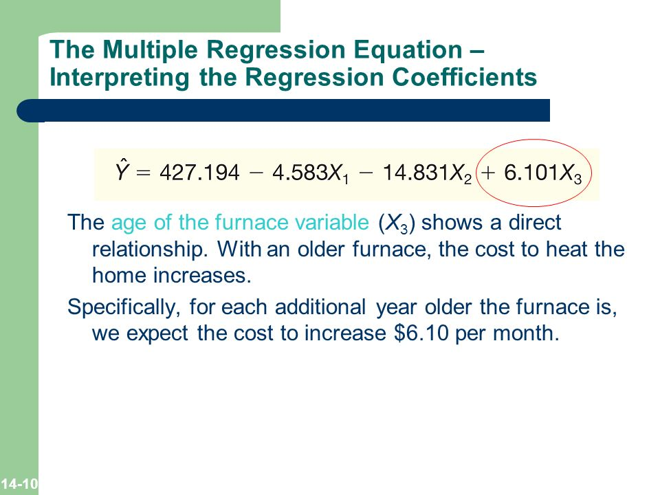 multiple linear regression and correlation analysis ppt