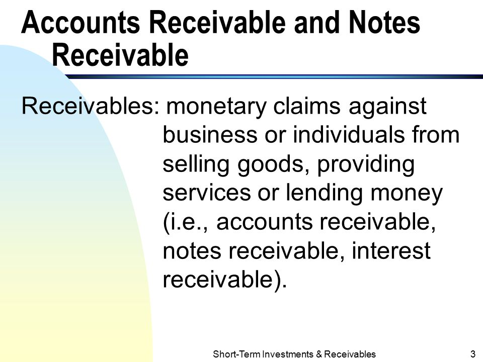 Accounting For Receivables  Ppt Download. Best Dog Food For Corgis Next Gen Data Center. Construction Equipment School. Itil Root Cause Analysis Tax Settlement Leads. Nancy Chandler Property Management. Best Investment Real Estate Nyc Film School. Weird Words In The English Language. Charitable Donations Online White Rubicon X. Alcohol And Drug Treatment What Is Msw Degree