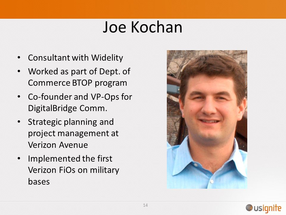 Joe Kochan Consultant with Widelity