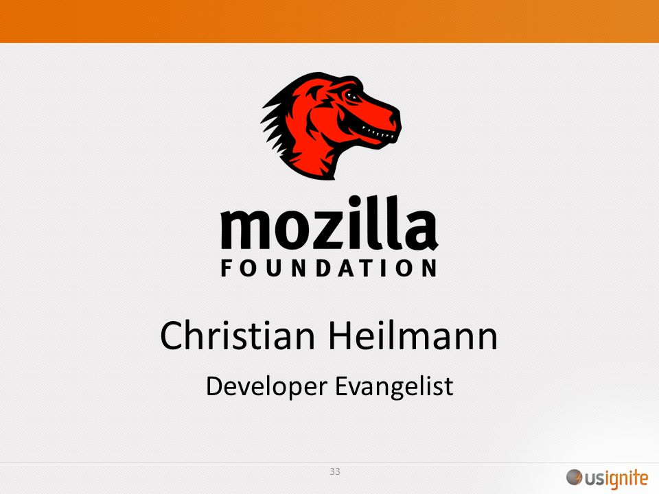 Christian Heilmann Developer Evangelist