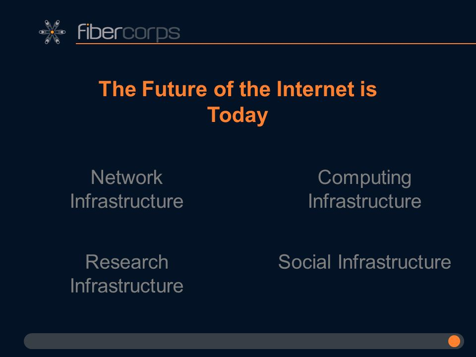 The Future of the Internet is Today