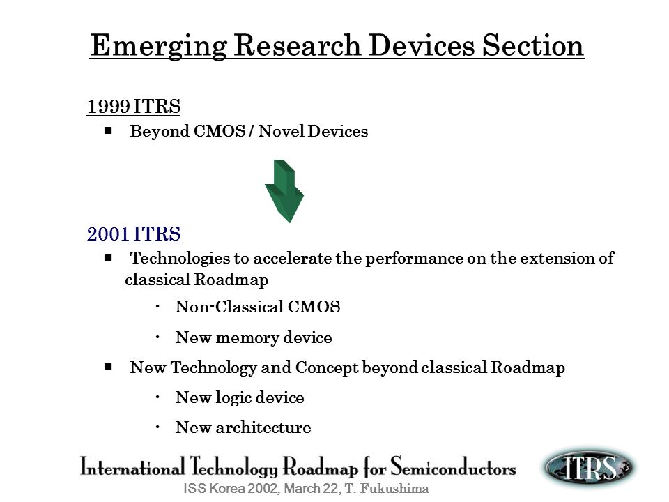 Emerging Research Devices Section
