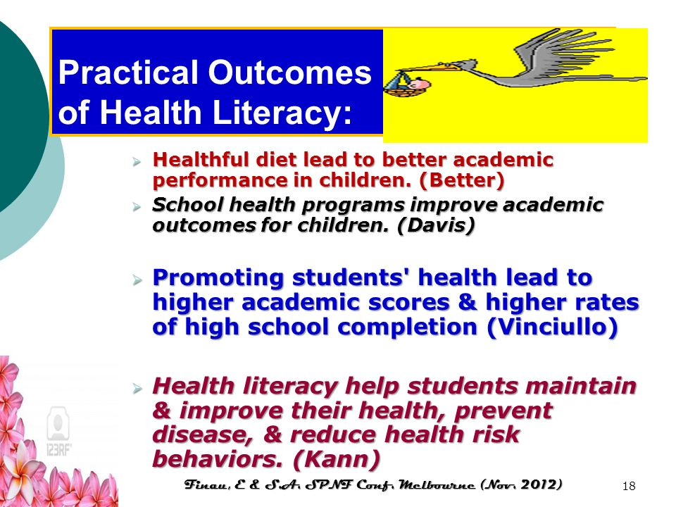 Practical Outcomes of Health Literacy: