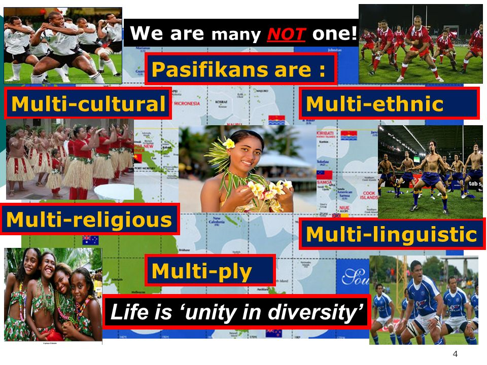 Life is 'unity in diversity'