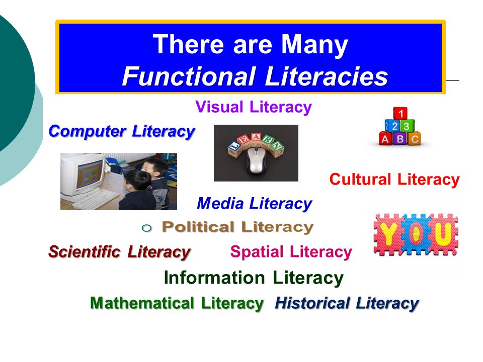 There are Many Functional Literacies