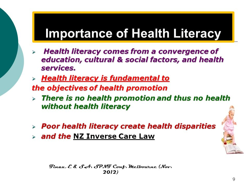 Importance of Health Literacy