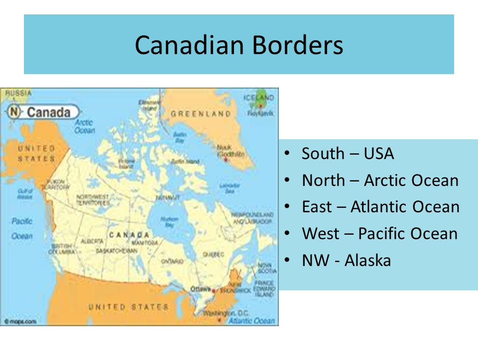 CANADA Ppt Video Online Download - Arctic ocean on us map
