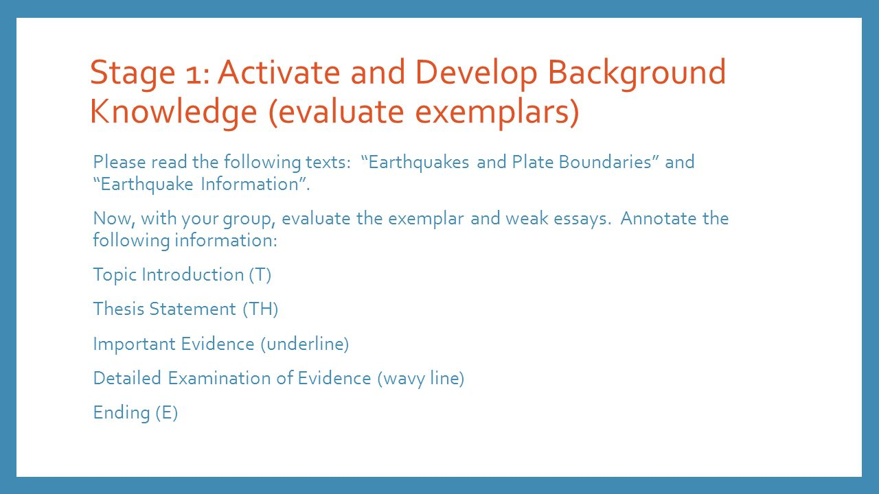 evaluate the evidence essay Write a response in which you discuss what specific evidence is needed to evaluate the argument and explain how the evidence would weaken or strengthen the argument.