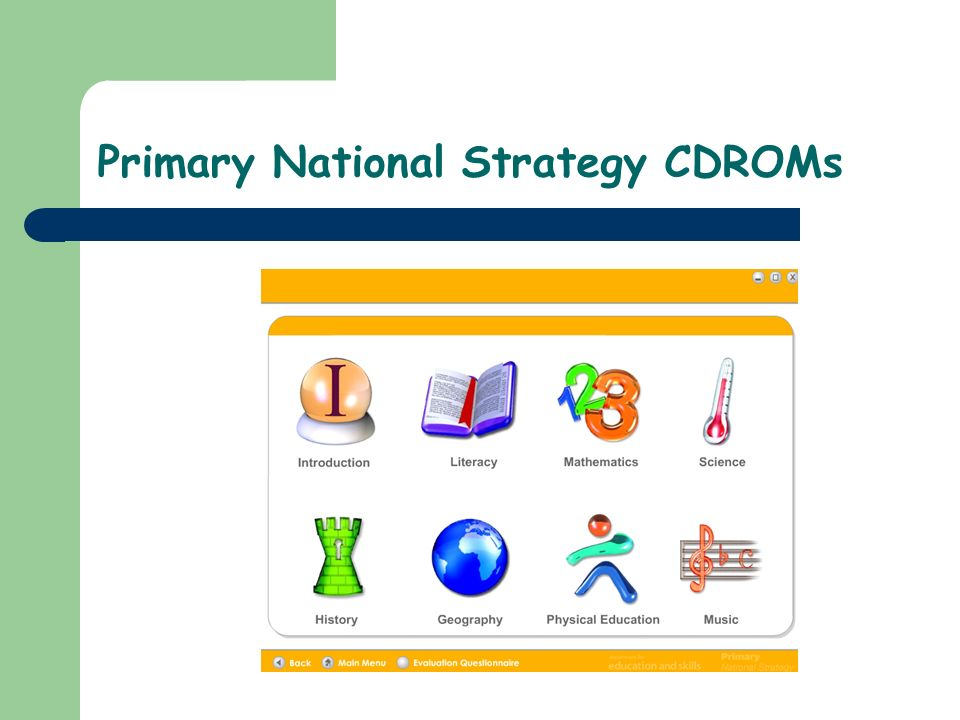 Primary National Strategy CDROMs