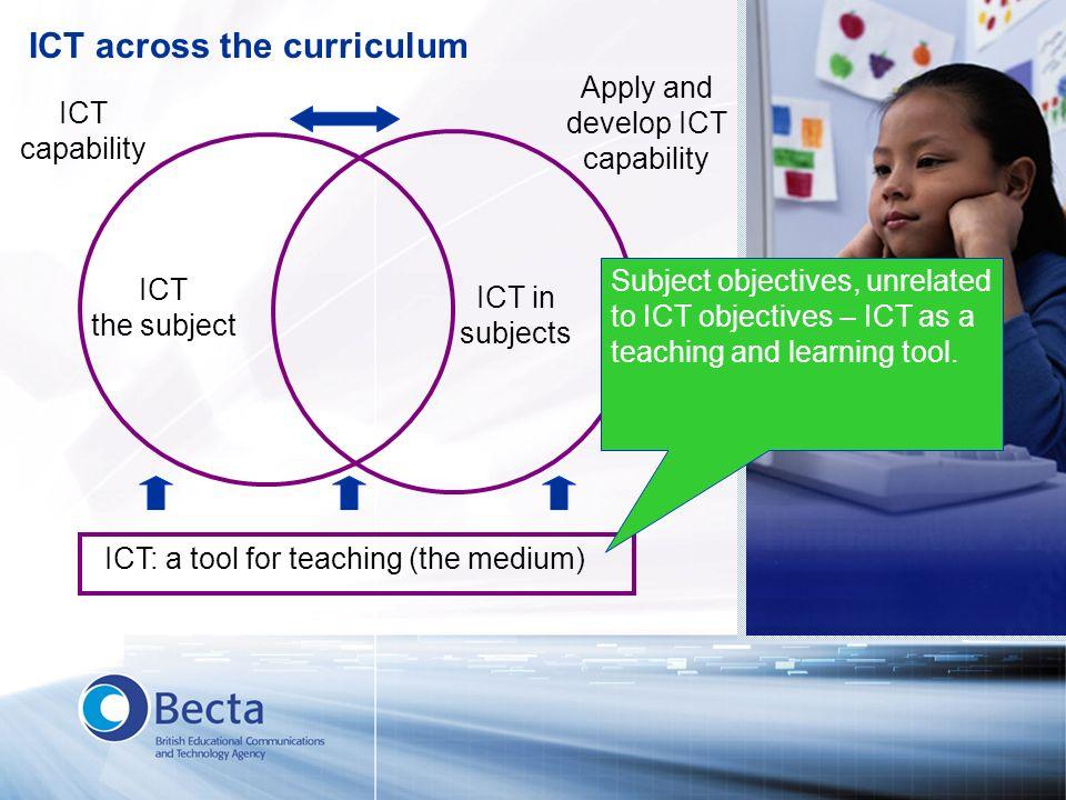 ICT across the curriculum