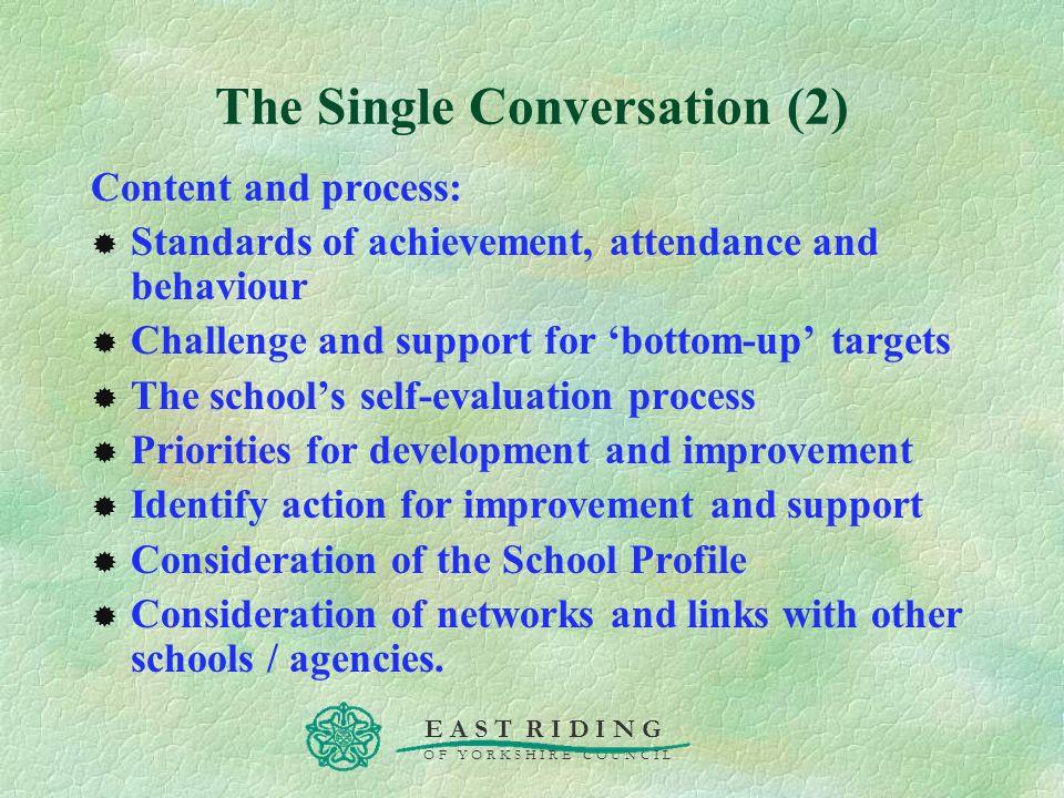 The Single Conversation (2)