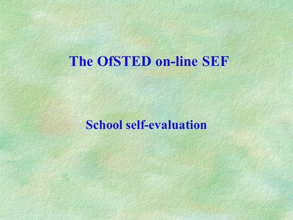 School self-evaluation