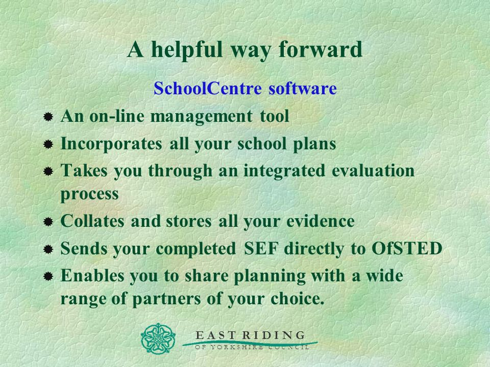 SchoolCentre software