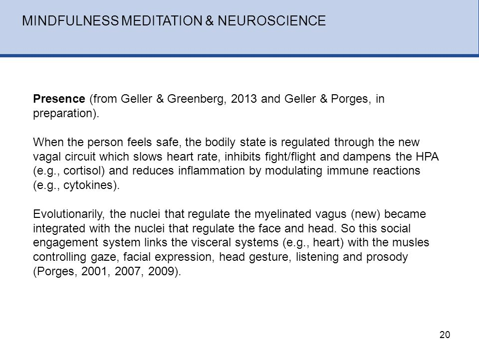 measuring the state of mindfulness through neuroscience The britton lab studies contemplative, affective, and clinical neuroscience  the  center for mindfulness in medicine, health care, and society is a  we use  multiple techniques for measuring brain activity as part of a cognitive  neuroscience  and emotion regulation laboratory (perl) at kent state  university adopts an.