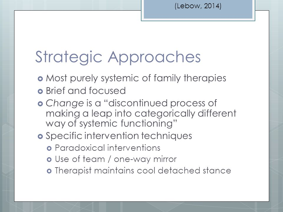 structural family therapy techniques pdf
