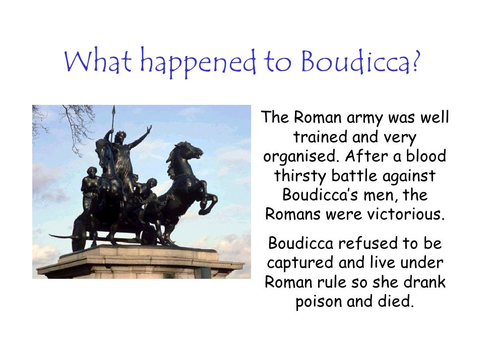 What happened to Boudicca