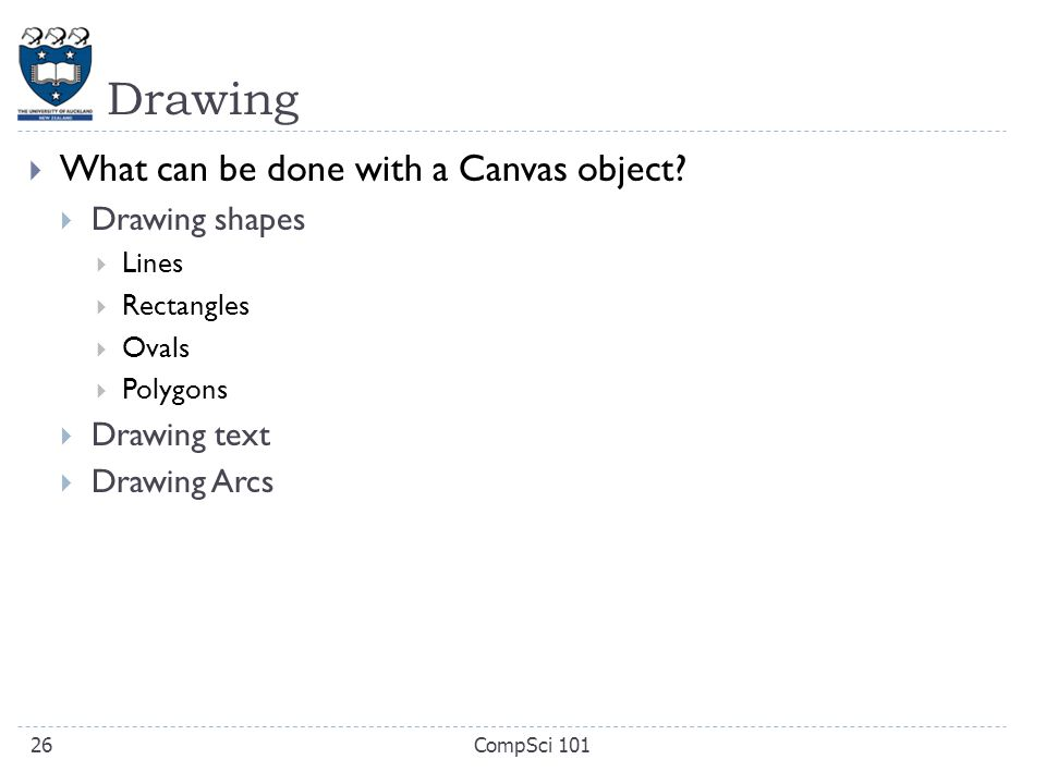Drawing Lines Shapes Or Text On Bitmaps : Compsci principles of programming ppt video online