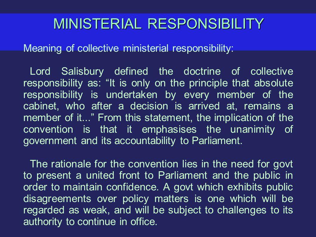 Cabinet Responsibility Definition - thesecretconsul.com