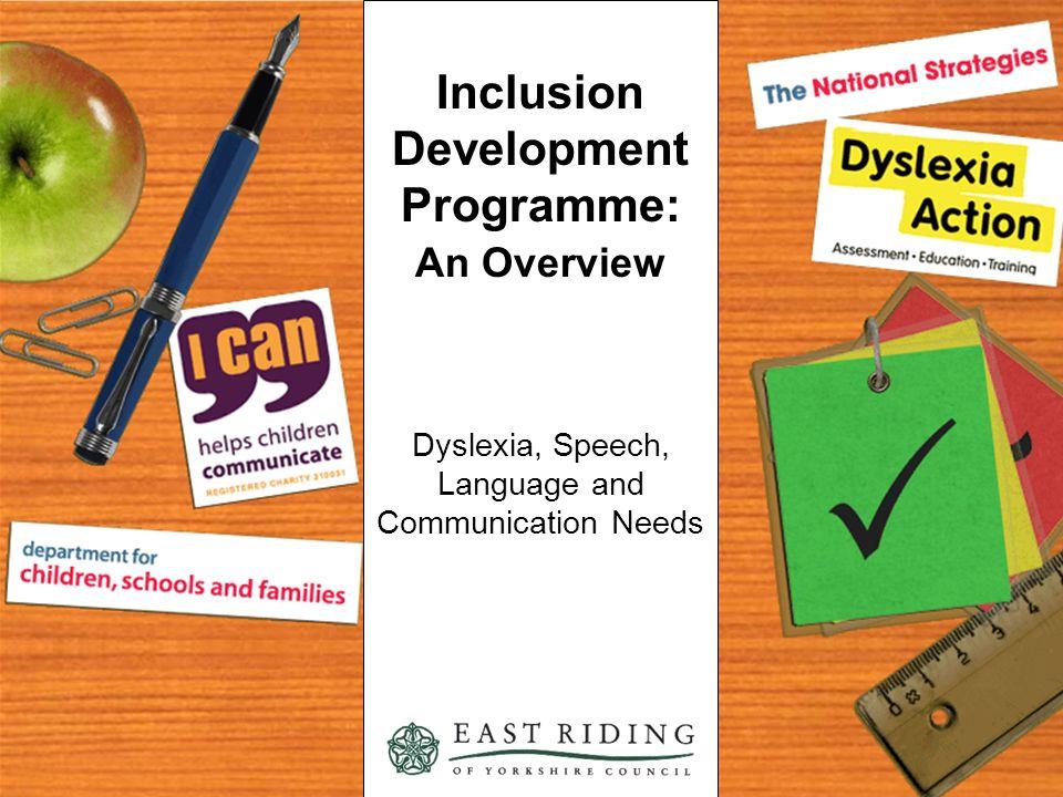 Inclusion Development Programme: