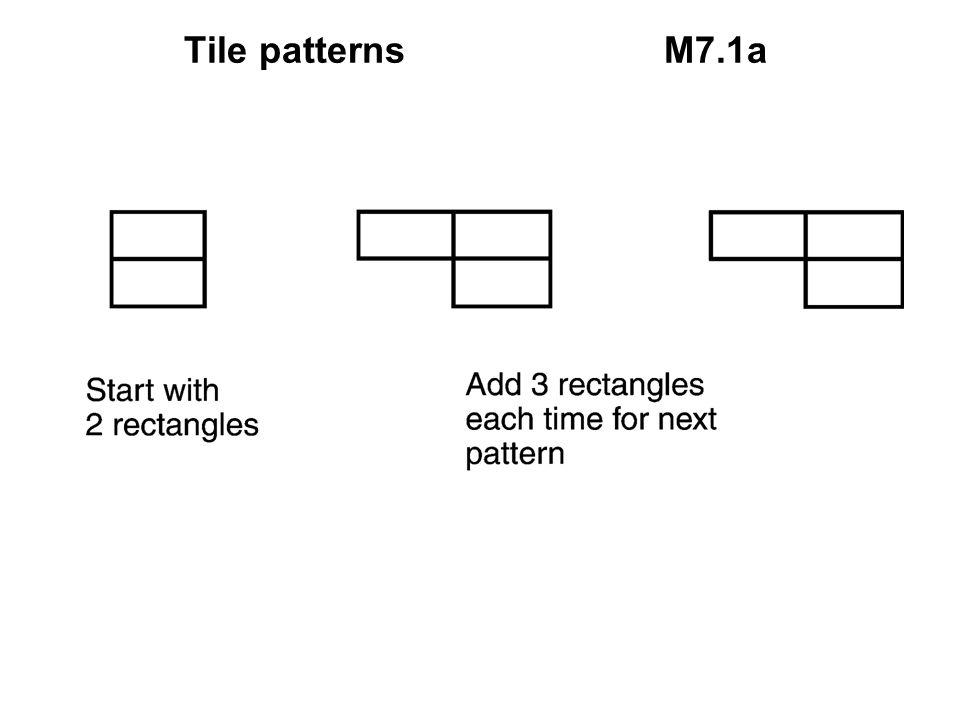 Tile patterns M7.1a