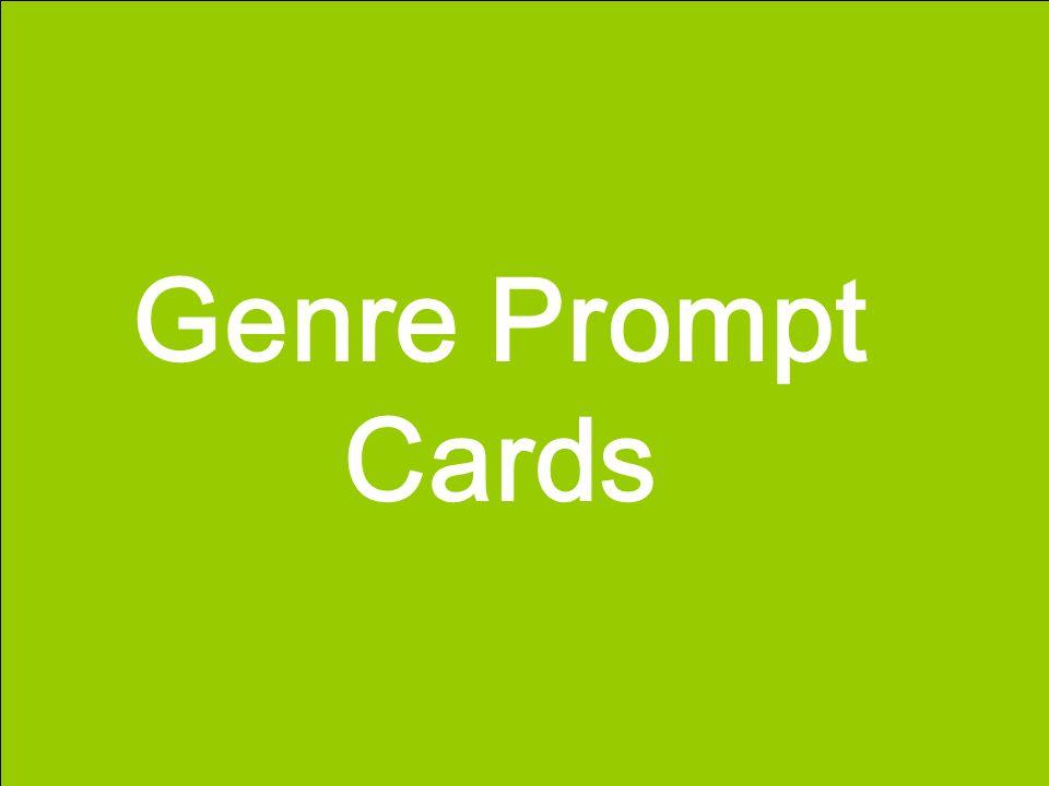 Genre Prompt Cards