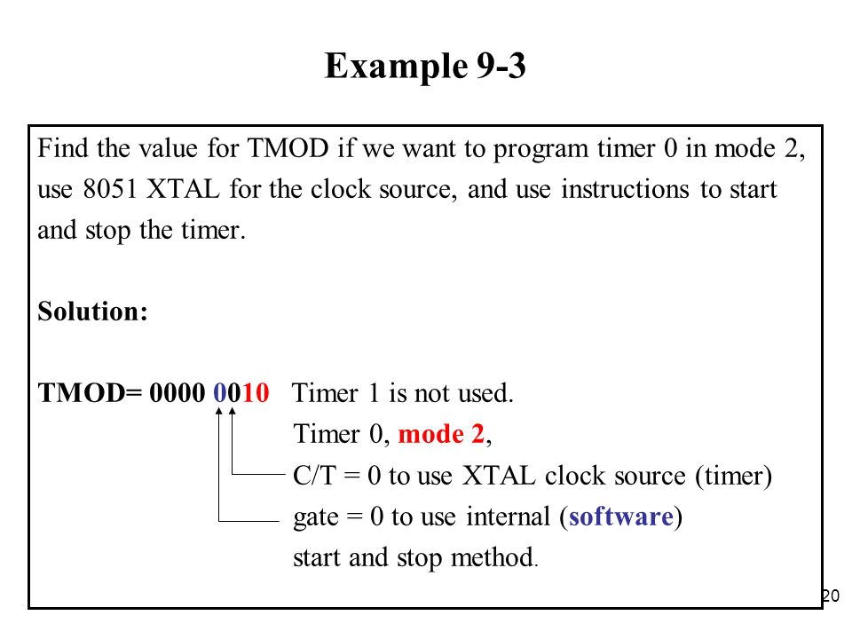 Chapter 9 Counter/Timer Programming in the ppt download