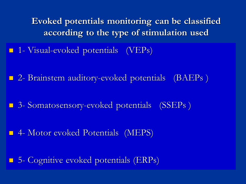 Electrodiagnostic tests and intraoperative monitoring for Motor evoked potential monitoring