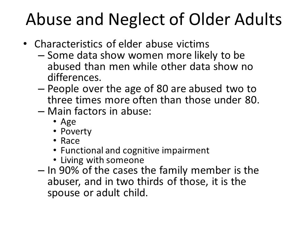 abuse in adult relationships
