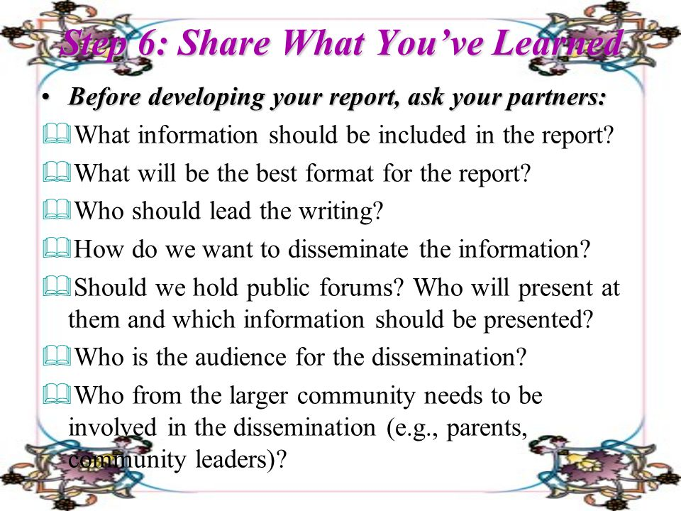 community assessment ppt