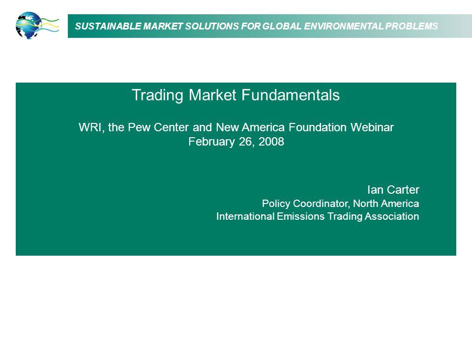 Trading Market Fundamentals