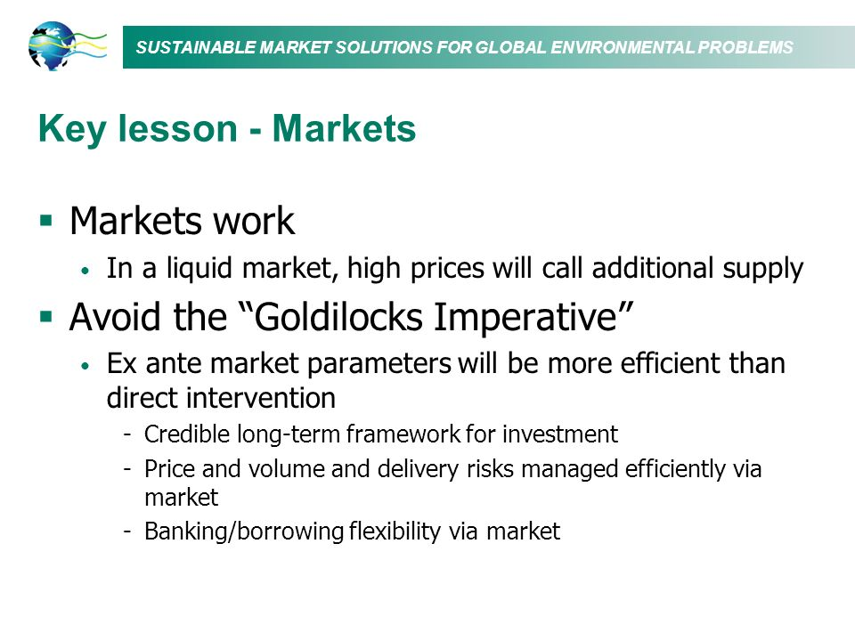 Avoid the Goldilocks Imperative