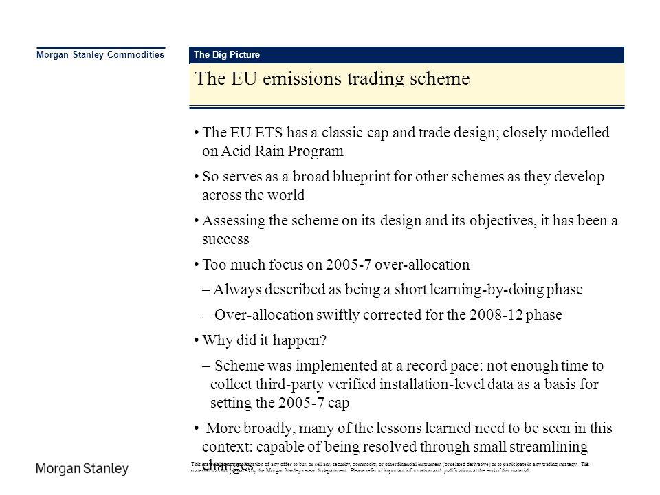 The EU emissions trading scheme