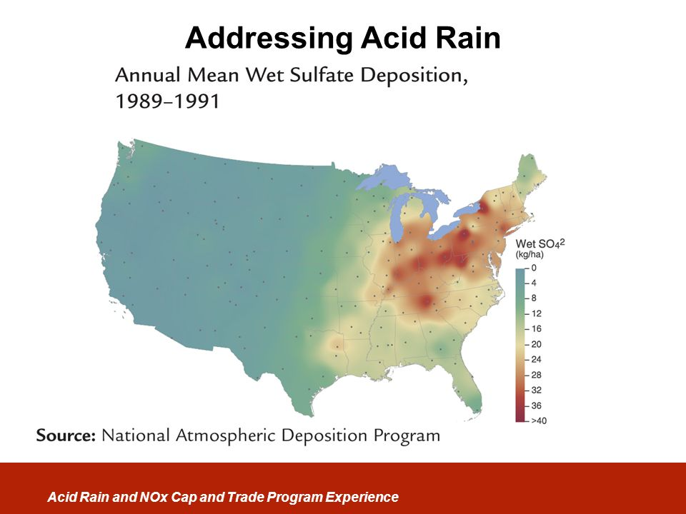 Addressing Acid Rain