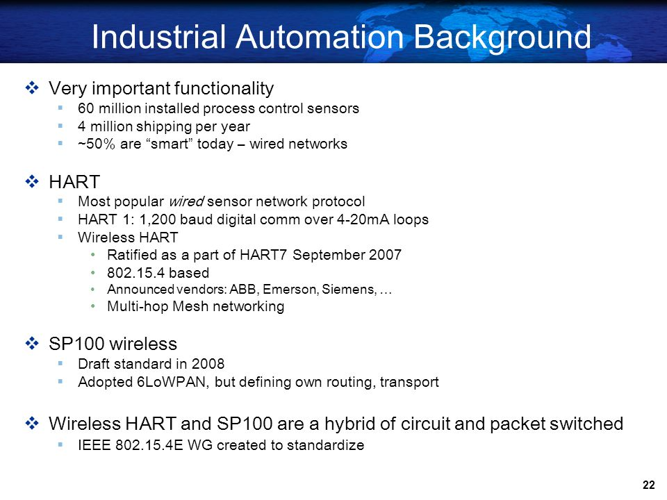 Industrial Automation Background