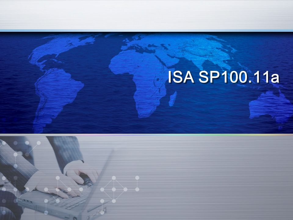 ISA SP100.11a