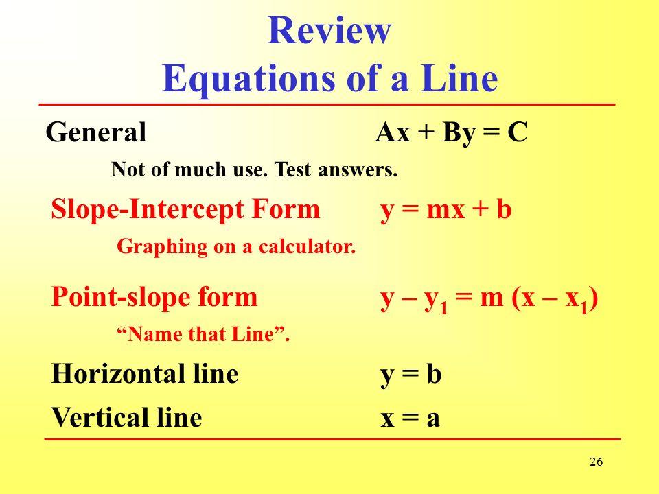 §2.1 Some Differe...Y Mx B Calculator