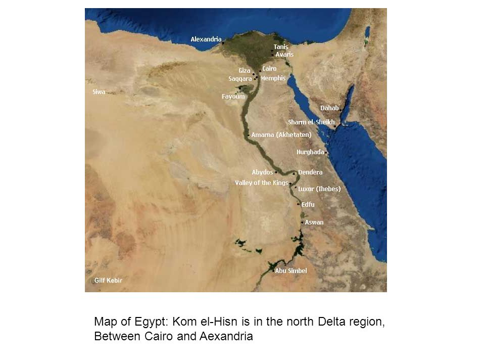 Map Of Egypt Kom ElHisn Is In The North Delta Region Ppt Download - Map of egypt delta region