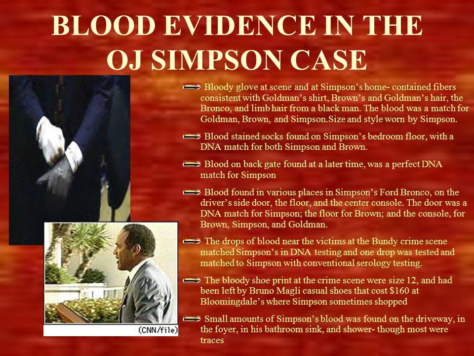 Oj Simpson Dna Evidence in America Bronx...