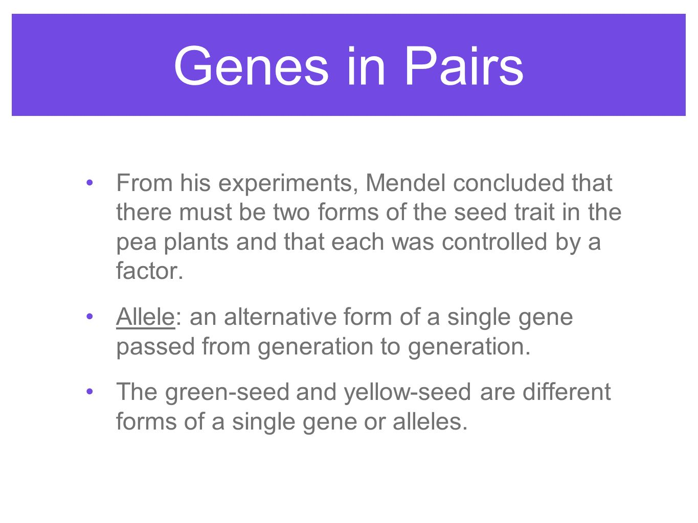 Sexual Reproduction and Genetics - ppt video online download