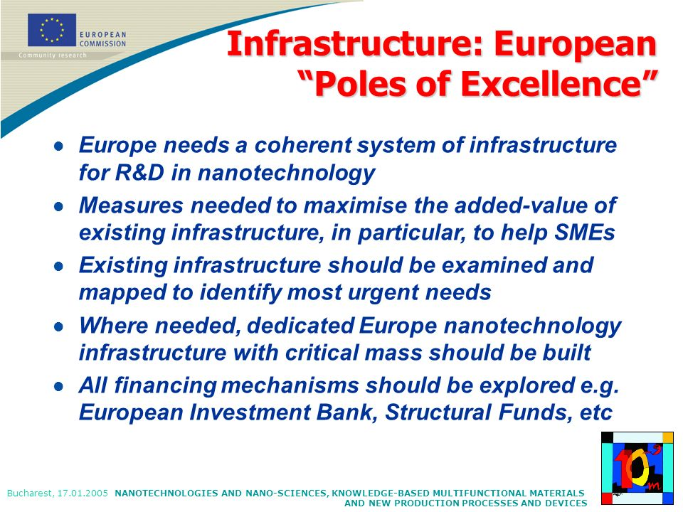 Infrastructure: European Poles of Excellence