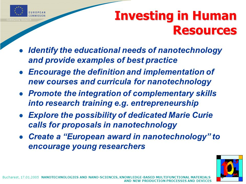 Investing in Human Resources