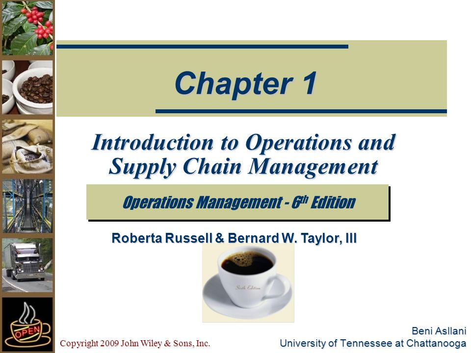 introduction to operations and supply chain Sell introduction to operations and supply chain management mcccagora students can sell introduction to operations and supply chain management (isbn# 0133871770) written by cecil b bozarth, cecil c bozarth, cecil bozarth, robert b handfield and receive a $3892 check, along with a free pre-paid shipping label.