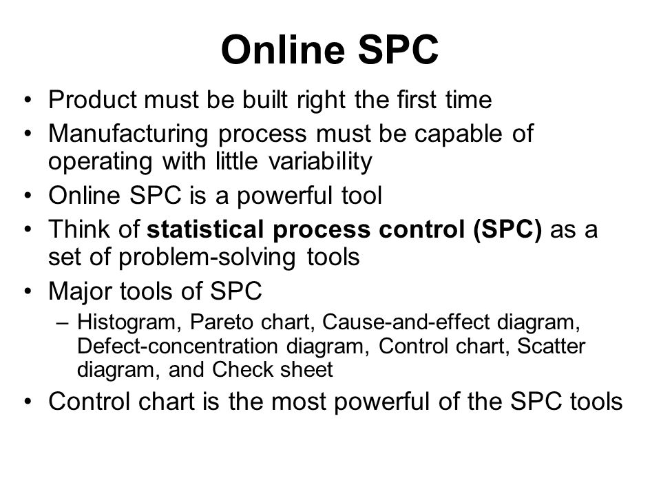 SPC Specialist Certification | SPC Training Courses