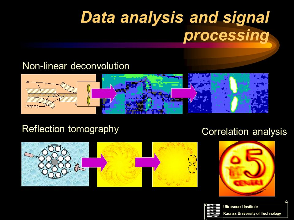 Data analysis and signal processing