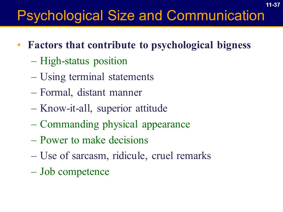 Emotional factors that can support or inhibit communication